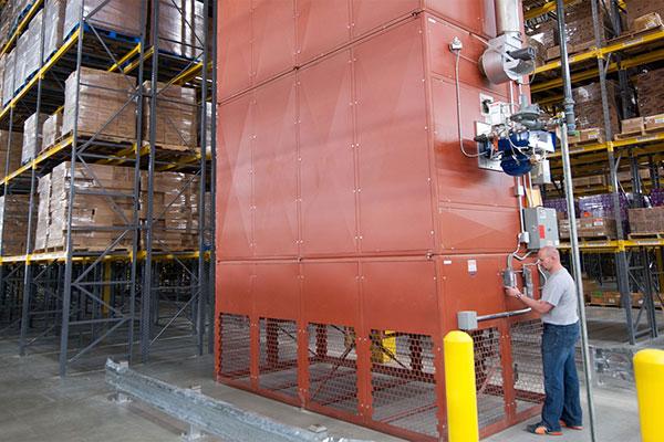 Industrial sized HVAC Equipment